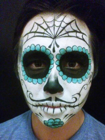 Sugar Skull for Hallowe'en client
