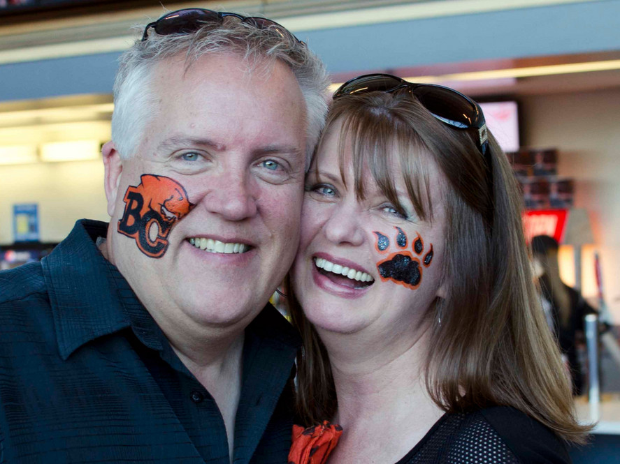 Support your team! #bclions #sportsfacepaint