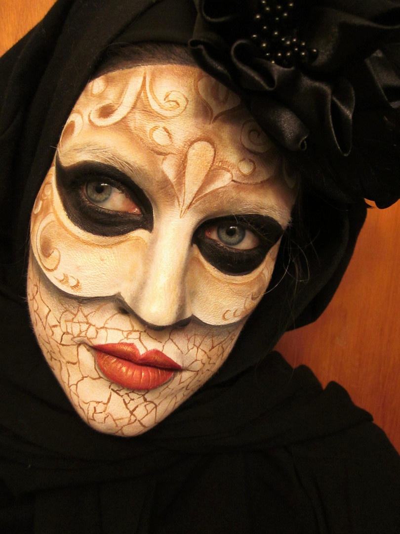Inspired by old Venetian masks