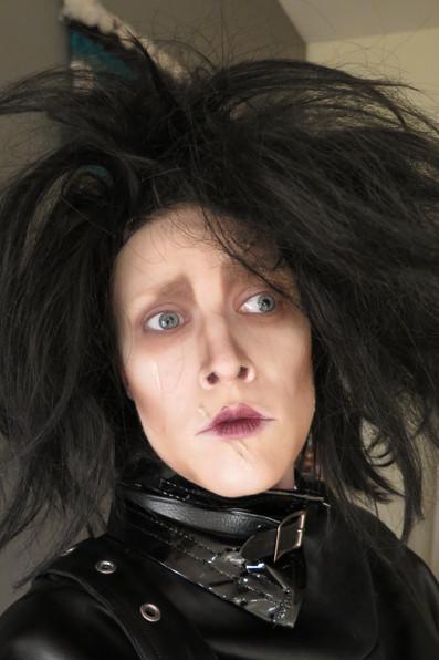 Allyson as Edward Scissorhands