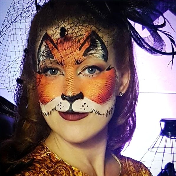 Fancy fox for The Vancouver Club's Family Hallowe'en event