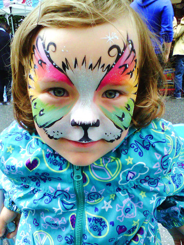 You want to be a rainbow lion butterfly? No problem!