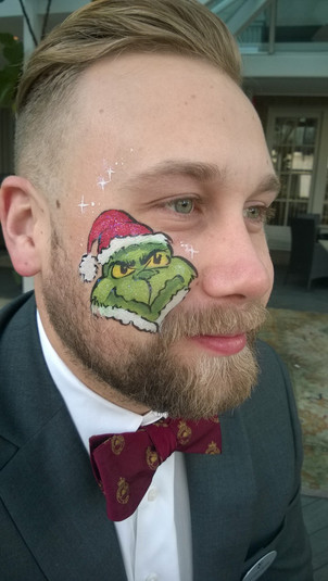 Grinch! Grown ups can have cheerful fun too!
