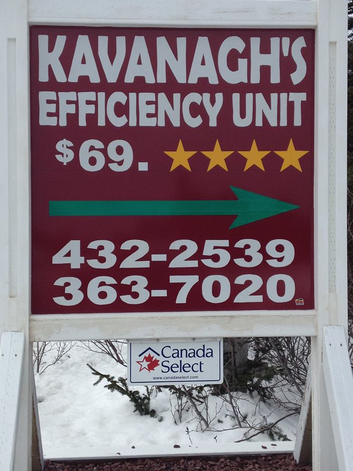 Kavanagh's Efficiency Unit (4 Stars)