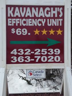 Kavanagh's Efficiency Unit (4 Stars)