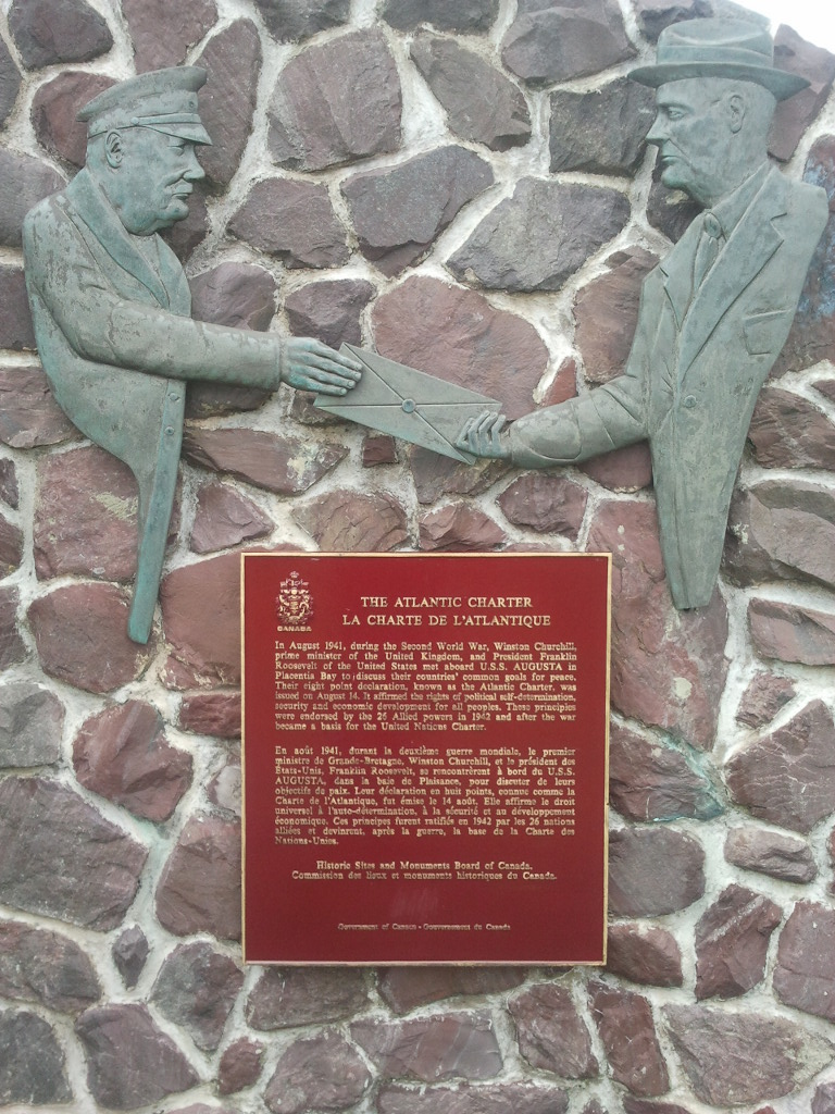 Atlantic Charter Monument