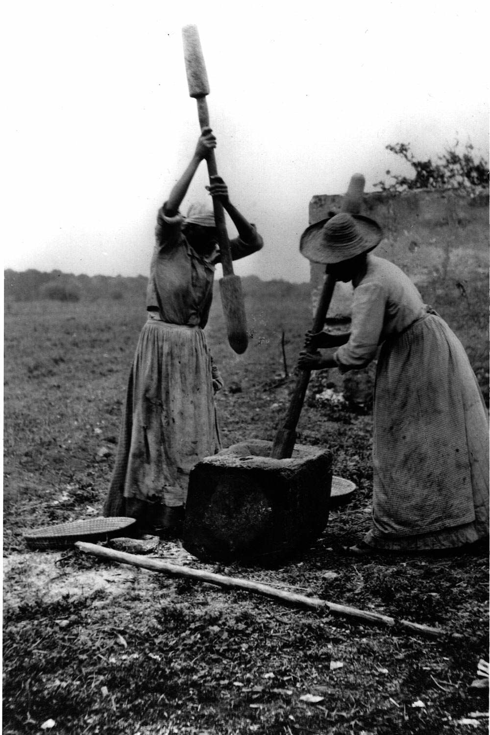 Two slave women Sapelo Island GA