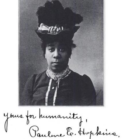 Pauline E Hopkins