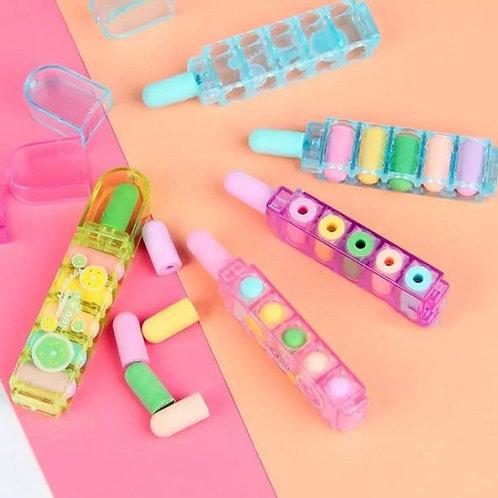 Bullet Eraser Pen Set
