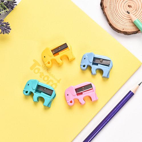 Elephant shaped pencil sharpener