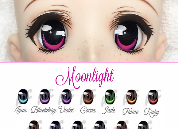 Moonlight acrylic dollfie dream/ smart doll eye