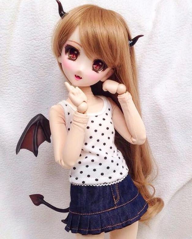 Dollfie dream 06 with Devil set