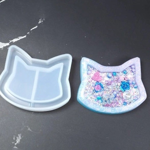 Cat Head Silicone Shaker Mould