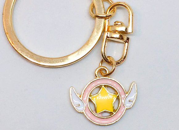Cardcaptor Sakura Star Wand Keychain