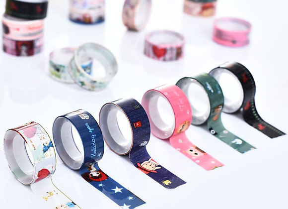 Cute Patterned Washi Tape