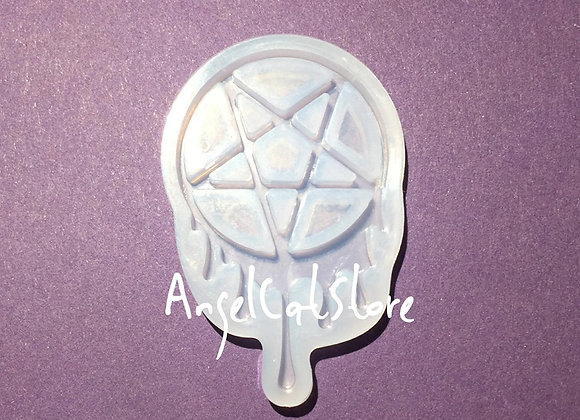 Melty Star/ Pentagram Silicone Mould