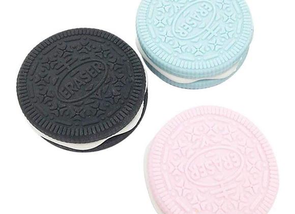 Oreo Cookie Shaped Eraser