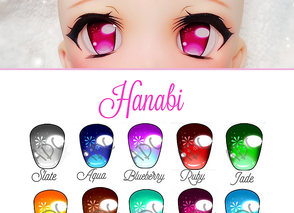 Hanabi Acrylic Dollfie dream/ Smart doll eye