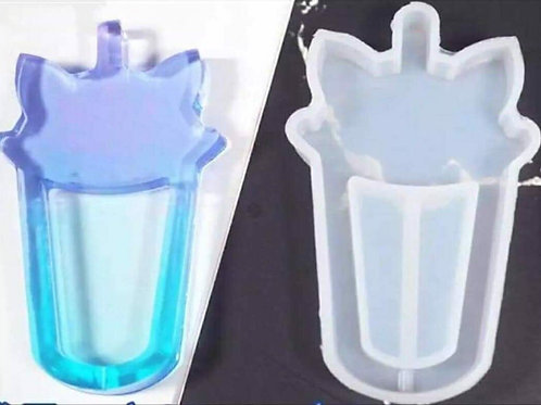 Cat Drink Cup Shaped Silicone Mould