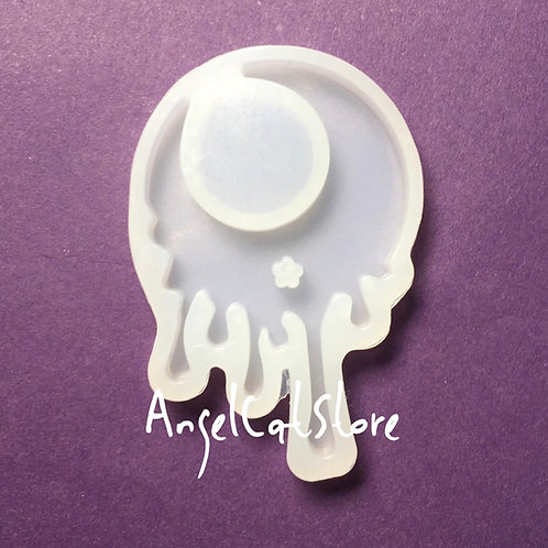 Melty Moon Silicone Mould