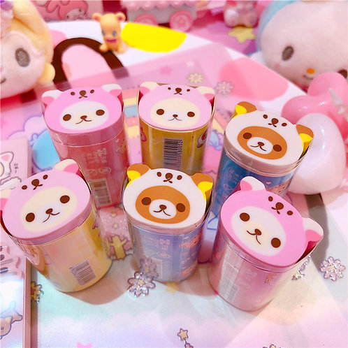 Rilakkuma Bear Shaped Eraser