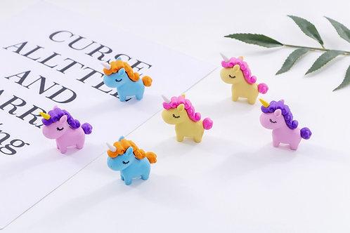 Unicorn Shaped Erasers
