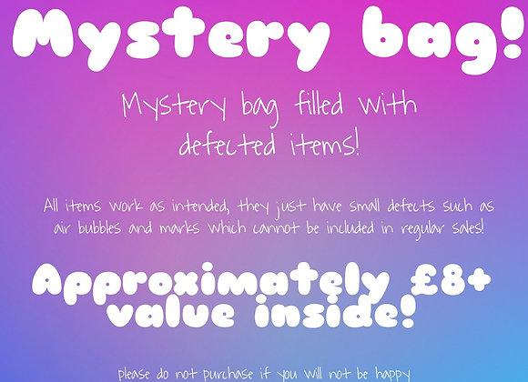 Mystery bag- defective items