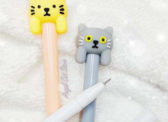Cat shaped gel pen