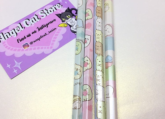 4pcs Sumikko Gurashi HB Pencil Set