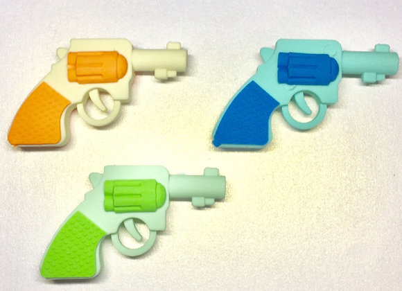 Water pistol/ gun shaped eraser
