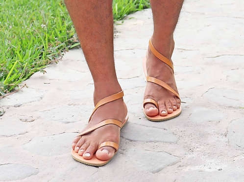 Bali - Strappy Minimalist Men Greek Sandals