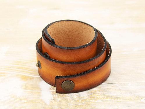 Ombre Leather Wrap Bracelet