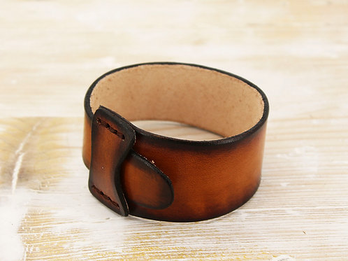 Ombre Leather Wristband