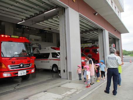盛岡中央消防署見学