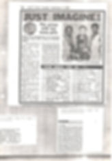 Imaginatin news clipping