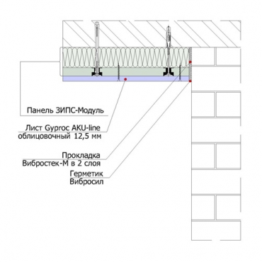 ЗИПС Модуль потолок3