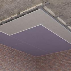 Каркасный зи потолок на Виброфлекс-Коннект ПП (115 мм)1