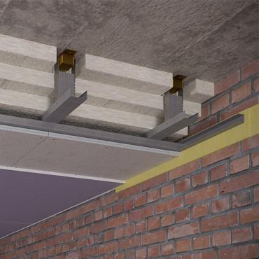 Каркасный зи потолок на Виброфлекс-Коннект К15 (200 мм)1