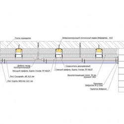 Каркасный зи потолок на Виброфлекс-Коннект К15 (130 мм)3