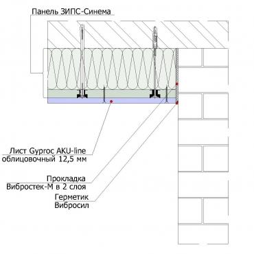 ЗИПС Синема потолок3