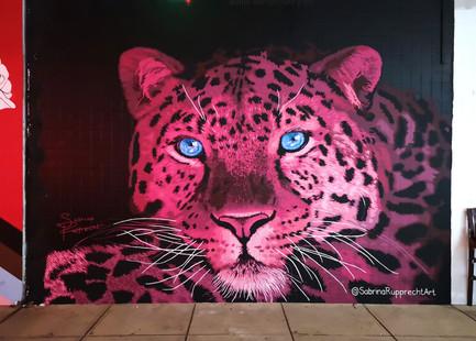 Pink Leopard Mural - Sabrina Rupprecht - 9
