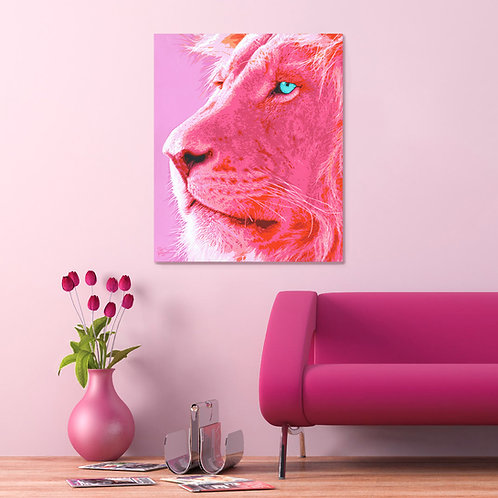 Pink Lion 1