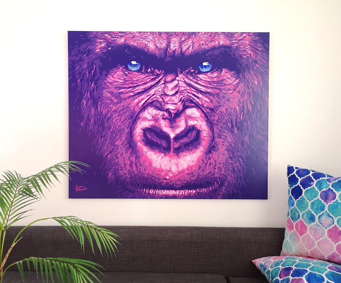 Pink-Gorilla-pink-safari-sabrina-rupprec