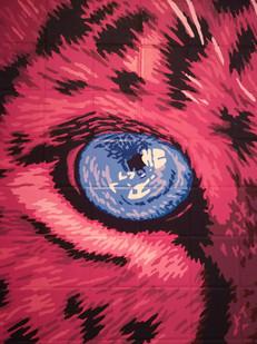 Pink Leopard Mural - Sabrina Rupprecht - 8