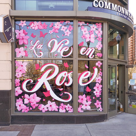 La Vie en Rose Window Mural - Sabrina Rupprecht - 4