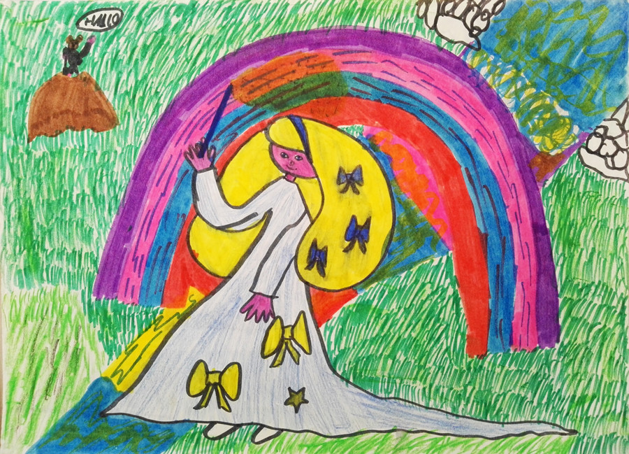 sabrina-rupprecht-artist-pink-safari-childhood-fairy-drawing
