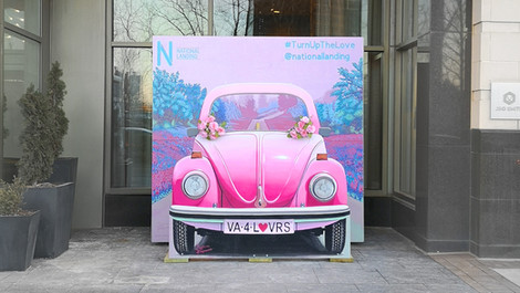 Love Bug Art Installation