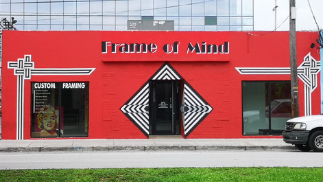 3D Art and Lettering Mural