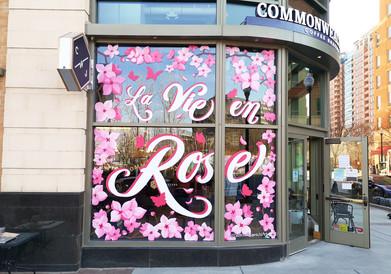 La Vie en Rose Window Mural - Sabrina Rupprecht - 1