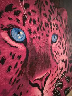 Pink Leopard Mural - Sabrina Rupprecht - 7